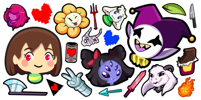 Undertale and Deltarune