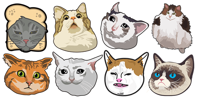 Funny Cats Custom Cursor For Chrome