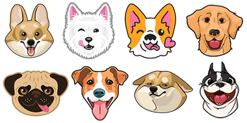 Dogs and Puppies Cursor