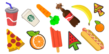 Food & Drinks Cursor