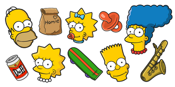 The Simpsons Cursor