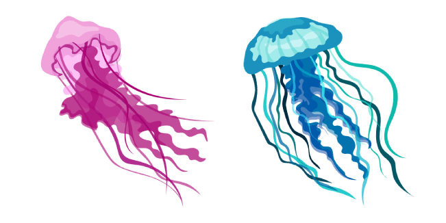Aquarelle Jellyfish