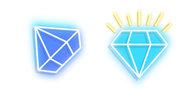 Blue Diamond Neon