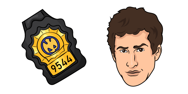 Brooklyn Nine-Nine Jake Peralta Cursor