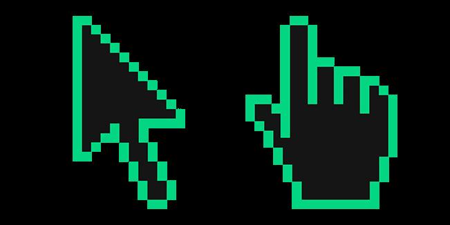 Caribbean Green Pixel