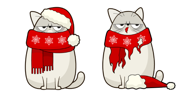 Christmas Cat and Costume