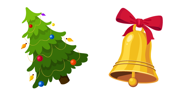 Christmas Tree and Bell