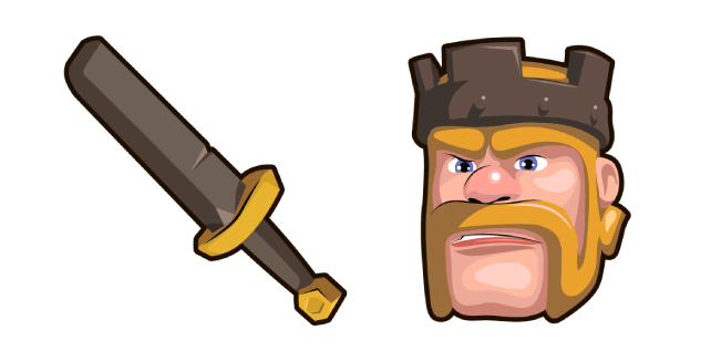 Clash of Clans Barbarian King Sword