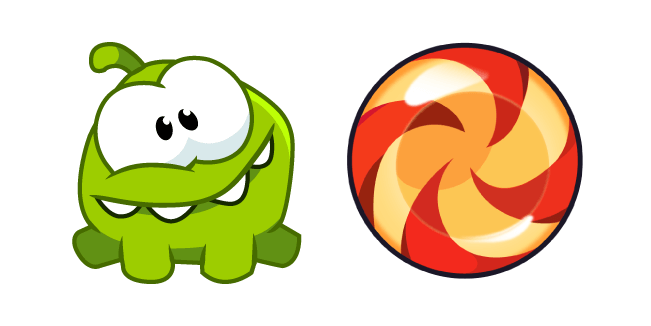 Cut the Rope Om Nom and Candy