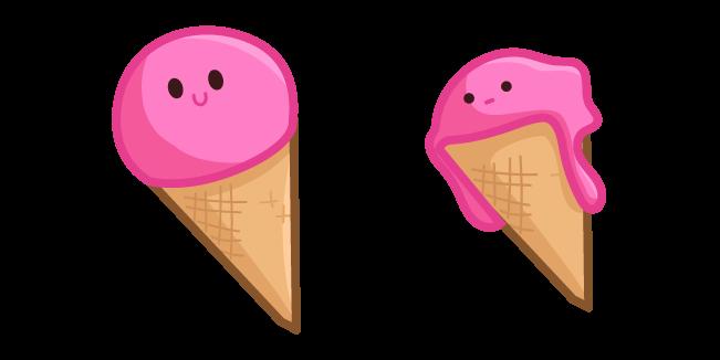 Cute Pink Ice Cream