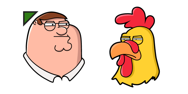 Family Guy Peter Griffin and Ernie Cursor
