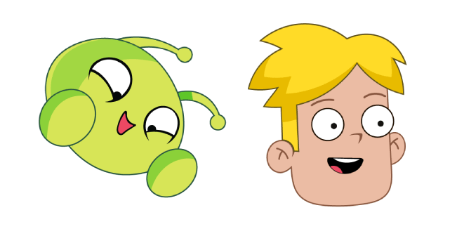 Final Space Mooncake and Gary Goodspeed