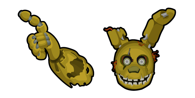 Five Nights at Freddy's Springtrap Cursor