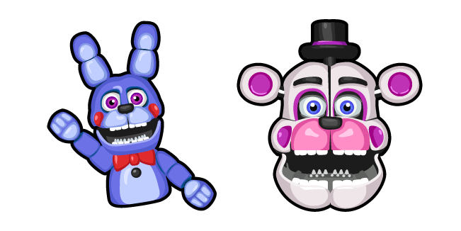 Five Nights at Freddys Funtime Freddy Cursor