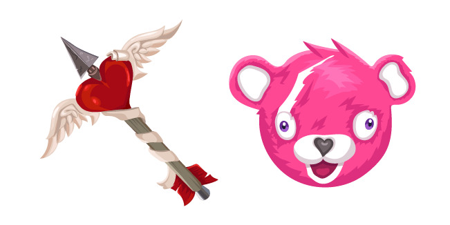 Fortnite Cuddle Team Leader Skin Tat Axe Cursor