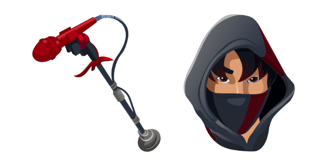Fortnite iKONIK Skin Red Lead Swinger Pickaxe