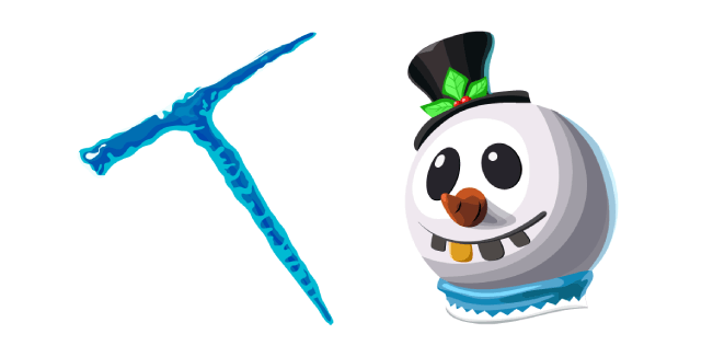 Fortnite Slush Soldier Skin Icicle Pickaxe