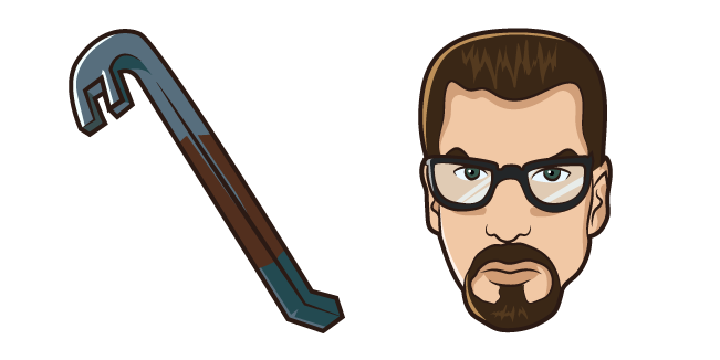 Half-Life Gordon Freeman Crowbar