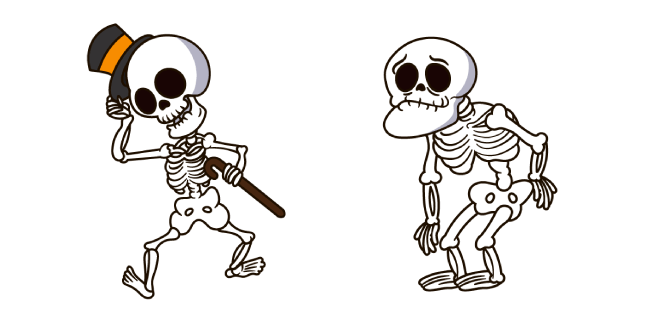 Halloween Funny Skeleton
