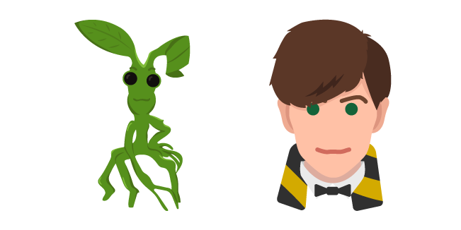 Harry Potter Newt Scamander and Pickett