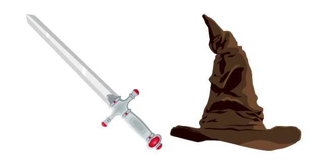 Harry Potter Sorting Hat and Gryffindors Sword