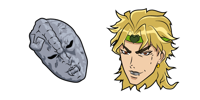 JoJo's Bizarre Adventure Dio Brando and Stone Mask