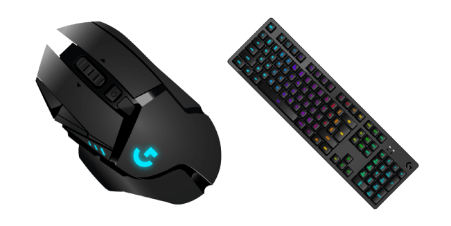 Logitech Gaming G502 Mouse and G513 Keyboard