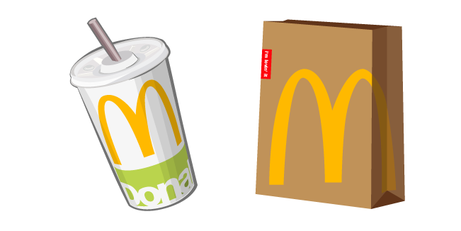 McDonald's Cola and Package