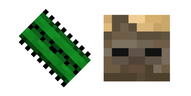 Minecraft Cactus and Husk