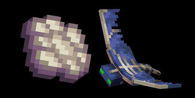 Minecraft Phantom Membrane and Phantom