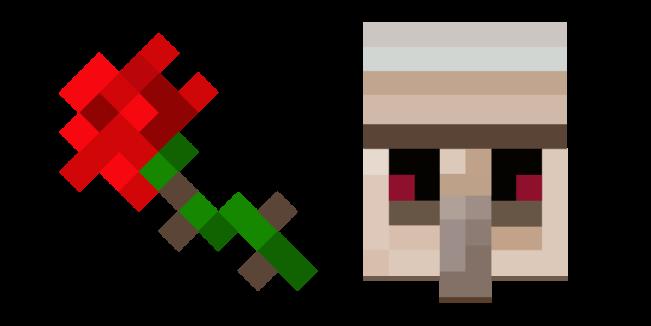 Minecraft Rose and Iron Golem