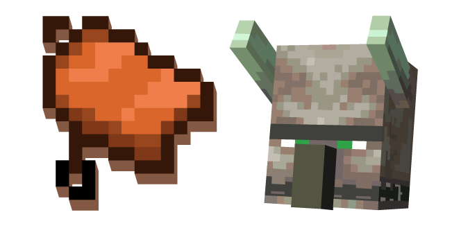Minecraft Saddle and Ravager