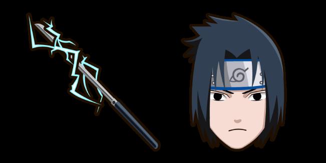 Naruto Sasuke Uchiha Chidori Katana