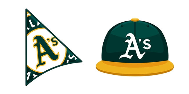 Oakland Athletics Cursor