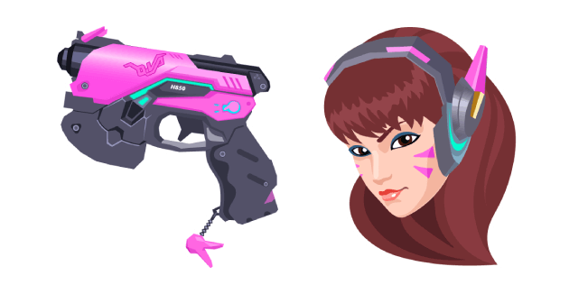 Overwatch 2 D.Va Light Gun
