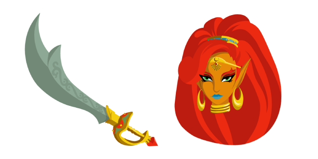 The Legend of Zelda Urbosa Scimitar of the Seven Sword
