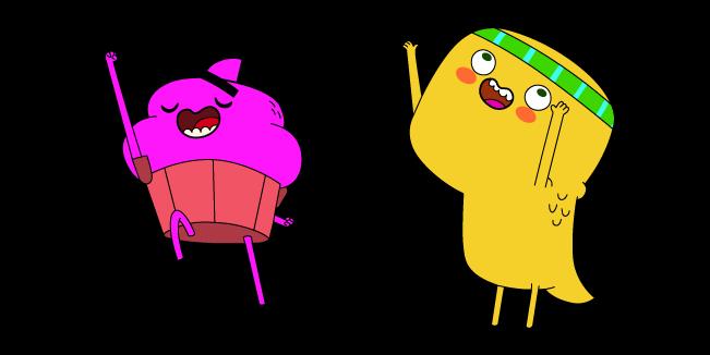 Cupcake & Dino