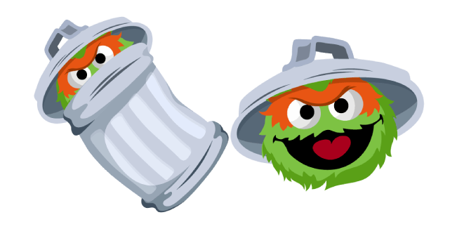 Sesame Street Oscar the Grouch Cursor