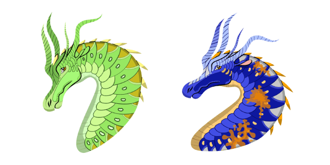 Wings of Fire Luna and Swordtail Cursor