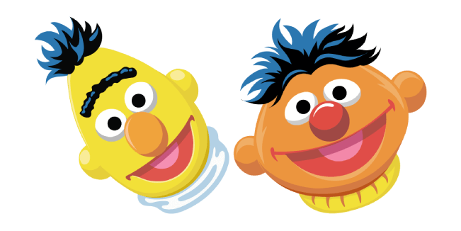 Sesame Street Bert and Ernie