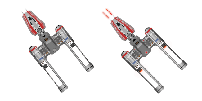 Star Wars BTA-NR2 Y-wing Starfighter