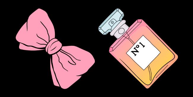 VSCO Girl Hair Bow and Perfume