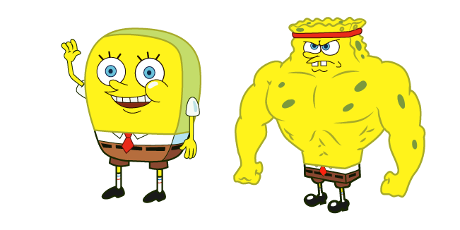 Increasingly Buff SpongeBob