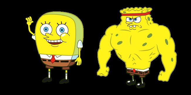 Increasingly Buff SpongeBob