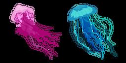 Aquarelle Jellyfish Cursor