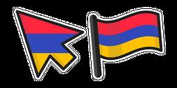 Armenia Flag Cursor
