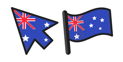 Australia Flag Cursor