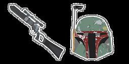 Star Wars Boba Fett Blaster EE-3 Carbine Rifle Cursor