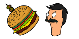 Bobs Burgers Bob and Burger Cursor