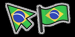 Brazil Flag Cursor